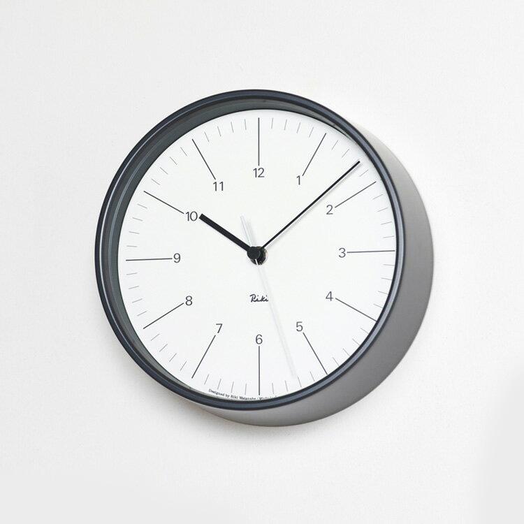 【新品本物】 壁掛けフック特典有 時計★電波時計 リキクロック RIKI STEEL テイスト CLOCK WR17-10 ギフト WR17-11【壁掛け時計 時計 掛け時計 インテリア時計 おしゃれ 壁掛け電波時計 壁掛け シンプル 北欧 テイスト 渡辺力 デザイナーズ デザイン 見やすい ウォールクロック ギフト 新生活】, トランスポーツ:edcbe9b5 --- clftranspo.dominiotemporario.com