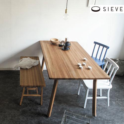 【メーカー直送品】SIEVE シーヴ merge dining bench マージ ダイニングベンチ SVE-DB003【ダイニング チェアー ベンチチェア 長椅子 いす イス 木製 無垢 北欧 テイスト ナチュラル シンプル モダン おしゃれ 新生活】