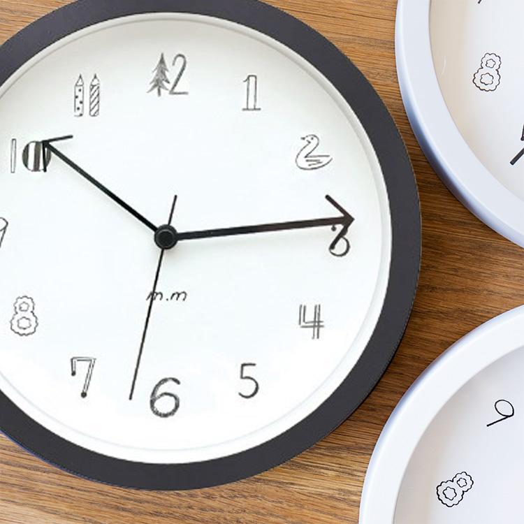 松尾ミユキ 毎日激安特売で 営業中です Wall clock ウォールクロック Sサイズ 19cm 時計 壁時計 壁掛け時計 壁掛け 掛け時計 インテリア雑貨 シンプル おしゃれ かわいい 女性 クロック リビング 雑貨 ギフト 結婚祝い 誕生日 プチギフト ミユキ 北欧 松尾 返品交換不可 インテリア m.m プレゼント モノトーン
