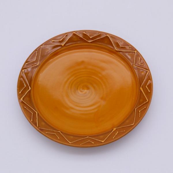 在庫限り バル 贈物 カフェ 業務用の他 ご家庭用にもぴったり おつまみやタパスに使える他 取皿 約16.2x2cm 美濃焼 取皿にもお使いやすいうつわです オーカーチョイス皿 送料無料