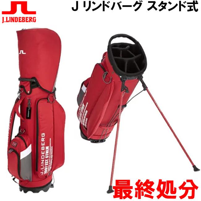 J.LINDEBERG J,リンドバーグ 超軽量スペック イヤーモデル スタンド式 キャディバック 日本限定商品 JL-014S
