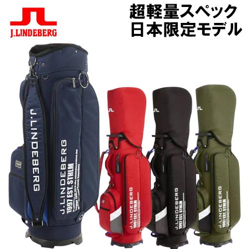 J.LINDEBERG J,リンドバーグ 超軽量スペック イヤーモデル キャディバック 日本限定商品 JL-014
