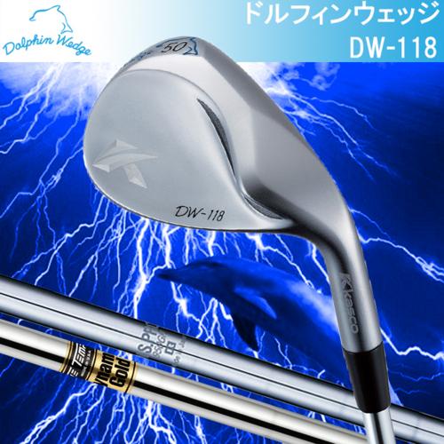 kasco キャスコ DOLPHIN WEDGE ドルフィンウェッジ ストレートネック N.S.PRO950GH DynamicGold スチールシャフト DW-118 DW118