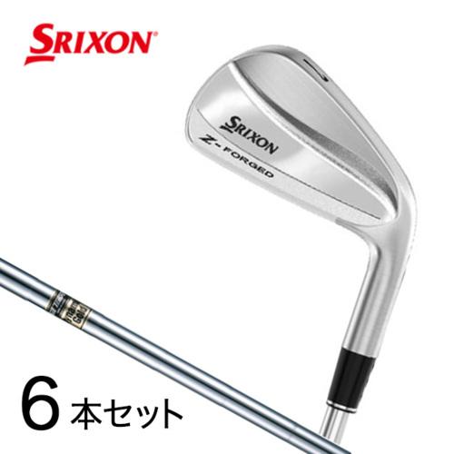 ダンロップ ゴルフ DUNLOP スリクソン SRIXON Z-FORGED 6本アイアン ダイナミックゴールド D.S.T. スチールシャフト