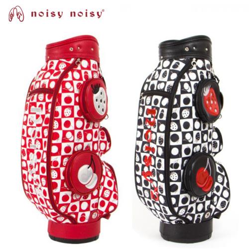noisy noisy by mieko uesako ノイジー ノイジー ミエコ ウエサコ レディース ゴルフ キャディーバッグ 90086