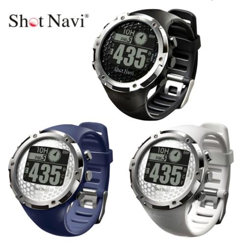 ポイント10倍 ショットナビ 腕時計型GPSゴルフナビ W1-FW