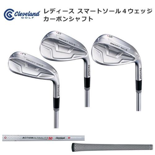 カーボンシャフト クリーブランドゴルフ レディース スマートソール4ウェッジ SMART SOLE4 チッパー