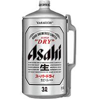 アサヒ スーパードライ ミニ樽 3L × 6缶