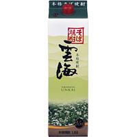 そば雲海 25°パック /雲海酒造(宮崎) 1.8L × 6本