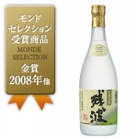 乙 残波 ホワイト 泡盛 25°/比嘉酒造(沖縄) 720ML × 12本