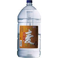 K-Price 乙 本格麦焼酎 5Lペット 25°(鹿児島) 5L × 4本
