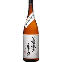 菊水の辛口 本醸造 / 菊水酒造(新潟) 1.8L × 6本