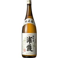 浦霞 純米酒 1.8L×6本入り