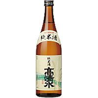 高清水 酒乃国 純米酒 (秋田) 720ML×12本入り