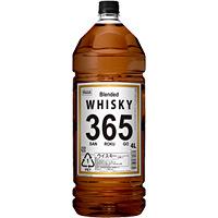 K-Price ウイスキー 365(サンロクゴ) 4Lペット 4L × 4本
