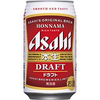 土日も出荷 365日年中無休 アサヒ 超人気 350ml缶×24本 直営ストア 本生ドラフト