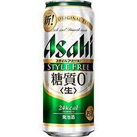 土日も出荷! 365日年中無休!! アサヒ スタイルフリー 500ml缶×24本
