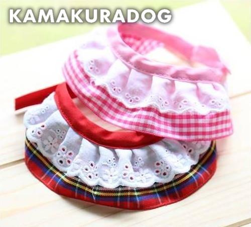 店 卸売り 犬猫用スカーフ ギンガムチェックスカーフ