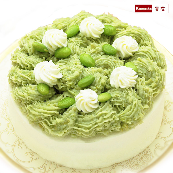 おもしろ ホワイトデー お返し ずんだ モンブラン 5号サイズ 変わった 誕生日ケーキ お母さん 女性 にも人気! 送料無料 ギフト おいしい ホワイトデーのお返し お取り寄せ あす楽