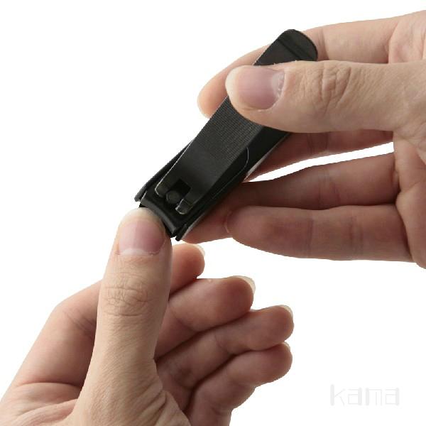 爪切り木屋爪きり日本製鋼製手足はがねつめきり黒大スパット切れる