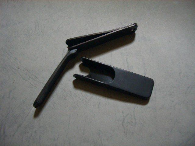 ギフト 爪切り 木屋 つめきり 高級 日本製 鋼製 手 足 はがね つめきり 黒 大 スパット切れる