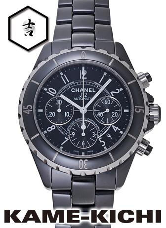 シャネル J12 クロノグラフ Ref.H0940 新品 ブラック (CHANEL J12 Chronograph)