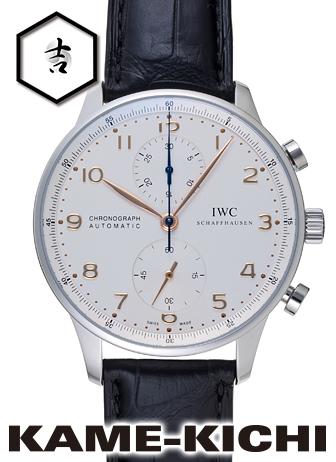 【最大3万円OFFクーポン!1/1~】IWC ポルトギーゼ クロノグラフ Ref.IW371445 新品 ホワイト (IWC Portuguese Chronograph)