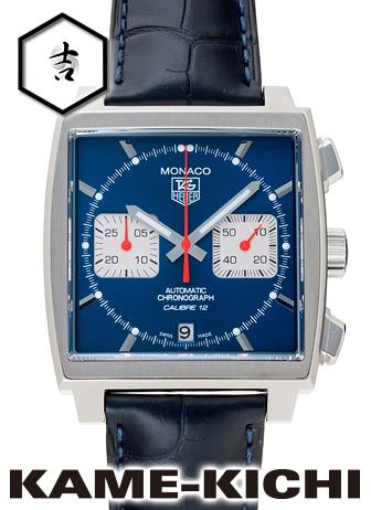 タグ・ホイヤー モナコ クロノグラフ Ref.CAW2111.FC6183 新品 ブルー/ホワイト (TAG HEUER Monaco Chronograph)