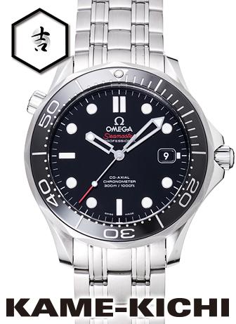 オメガ シーマスタープロフェッショナル Ref.212.30.41.20.01.003 新品 ブラック (OMEGA Seamaster Professional)