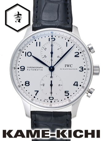 IWC ポルトギーゼ クロノグラフ Ref.IW371446 新品 ホワイト (IWC Portuguese Chronograph)