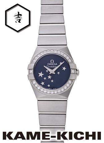 オメガ コンステレーション Ref.123.15.24.60.03.001 新品 ブルー (OMEGA Constellation)