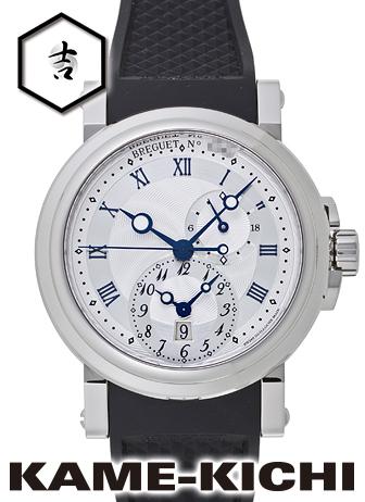 ブレゲ マリーンGMT Ref.5857ST/12/5ZU 新品 シルバー (BREGUET Marine GMT)