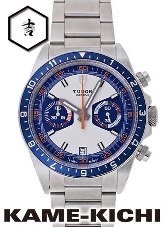 チューダー/チュードル ヘリテージ クロノグラフ Ref.70330B 新品 シルバー/ブルー (TUDOR Heritage Chronograph)