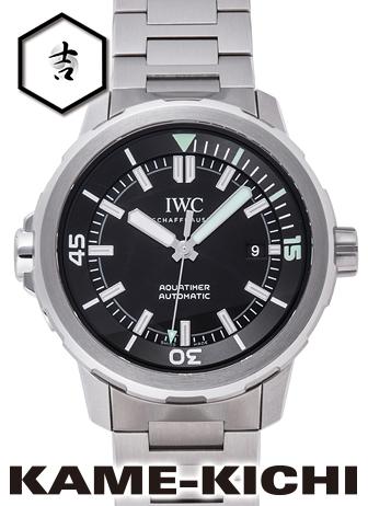 IWC アクアタイマー オートマティック Ref.IW329002 新品 ブラック (IWC Aquatimer Automatic)
