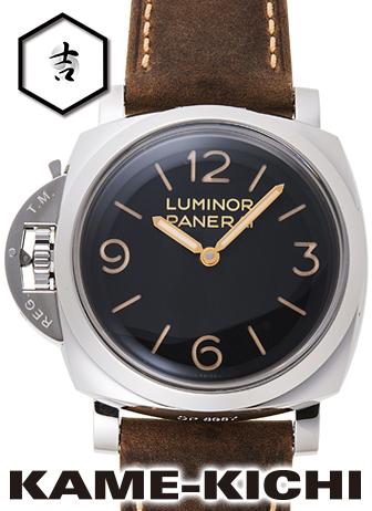 パネライ ルミノール1950 3デイズ アッチャイオ Ref.PAM00557 新品 ブラック (PANERAI Luminor1950 3Days Acciaio)