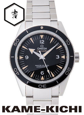 オメガ シーマスター300 マスターコーアクシャル Ref.233.30.41.21.01.001 新品 ブラック (OMEGA Seamaster300 Master Co-Axial)