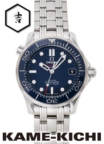 オメガ シーマスタープロフェッショナル Ref.212.30.36.20.03.001 新品 ブルー (OMEGA Seamaster Professional)【】