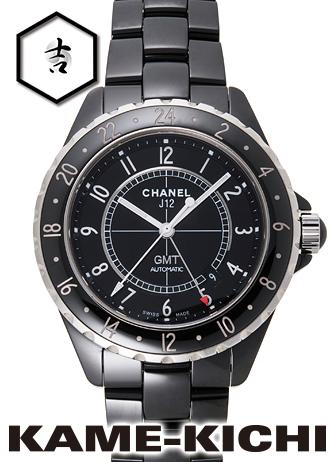 【中古】シャネル J12 GMT Ref.H2012 ブラック (CHANEL J12 GMT), アトリエT:93e5d165 --- seoreseller.jp