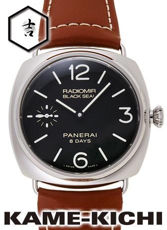 パネライ ラジオミール 8デイズ アッチャイオ Ref.PAM00609 新品 ブラック (PANERAI Radiomir 8Days Acciaio)