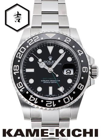 【中古】ロレックス 3年保証 GMTマスターII Ref.116710LN ブラック (ROLEX GMT MasterII)