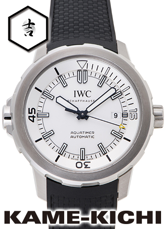 【中古】IWC アクアタイマー オートマティック Ref.IW329003 シルバー (IWC Aquatimer Automatic)