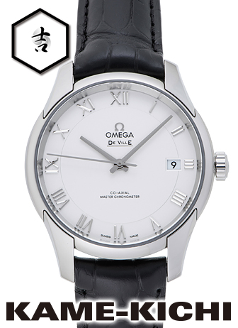 オメガ デ・ヴィル アワービジョン マスタークロノメーター Ref.433.13.41.21.02.001 新品 シルバー (OMEGA De Ville Hour Vision Master Chronometer)