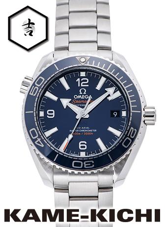 オメガ シーマスター プラネットオーシャン コーアクシャル マスタークロノメーター Ref.215.30.40.20.03.001 新品 ブルー (OMEGA Seamaster Planet-ocean Co-Axial Master Chronometer)