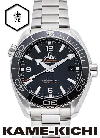 オメガ シーマスター プラネットオーシャン コーアクシャル マスタークロノメーター Ref.215.30.44.21.01.001 新品 ブラック (OMEGA Seamaster Planet-ocean Co-Axial Master Chronometer)【】