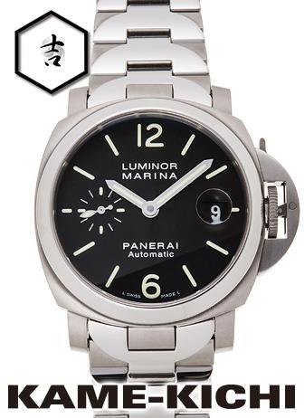 【中古】パネライ ルミノール マリーナ Ref.PAM00333 ブラック (PANERAI Luminor Marina)