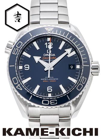 オメガ シーマスター プラネットオーシャン コーアクシャル マスタークロノメーター Ref.215.30.44.21.03.001 新品 ブルー (OMEGA Seamaster Planet-ocean Co-Axial Master Chronometer)