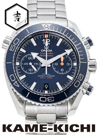 オメガ シーマスター プラネットオーシャン コーアクシャル マスタークロノメーター クロノグラフ Ref.215.30.46.51.03.001 新品 ブルー(OMEGA Seamaster Planet-ocean Co-Axial Master Chronometer Chronograph)