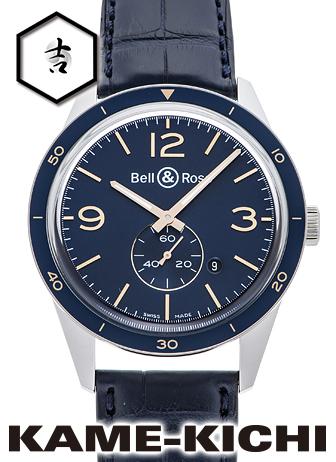 ベル&ロス アエロナバル Ref.BRV123-BLU-ST/SCR 新品 ブルー (Bell&Ross Aeronavale)