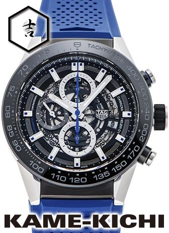 タグ・ホイヤー カレラ キャリバー ホイヤー01 ブルータッチエディション Ref.CAR2A1T.FT6052 新品 (TAG HEUER Carrera Calibre HEUER01 Blue Touch Edition)