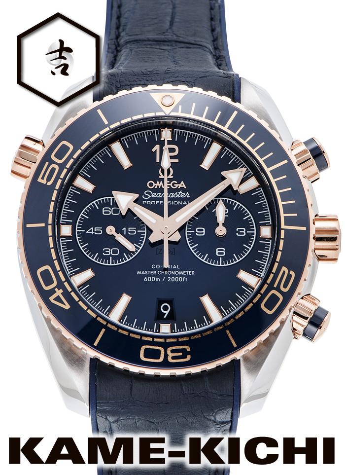 オメガ シーマスター プラネットオーシャン コーアクシャル マスタークロノメーター クロノグラフ Ref.215.23.46.51.03.001 新品 ブルー(OMEGA Seamaster Planet-ocean Co-Axial Master Chronometer Chronograph)
